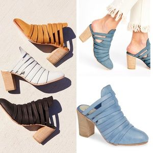 NEW Free People Bryon strappy mule